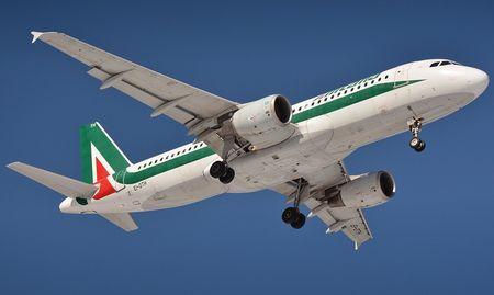 alitaliavliegtuig